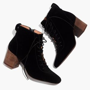 The Emilia Lace-Up Boot